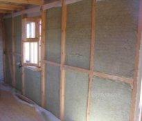 Пароизоляция и утепление стен