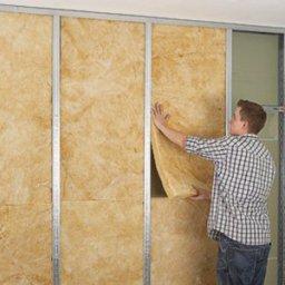 Монтаж теплоизоляции стен